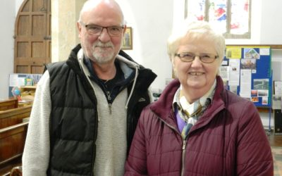 Caistor Church Wardens appointed for the coming year!