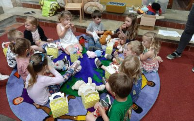Tots Time enjoys Teddy Bear's Picnic